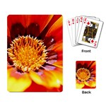 Annual Zinnia Flower   Playing Cards Single Design