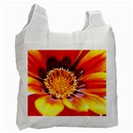 Annual Zinnia Flower   Recycle Bag (One Side)