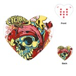 bone 1 Playing Cards (Heart)