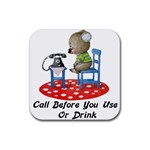 Call First Rubber Coaster (Square)