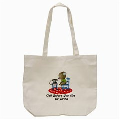 Call First Tote Bag from ArtsNow.com Front