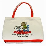 Call First Classic Tote Bag (Red)