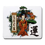 Geisha Scroll Large Mousepad