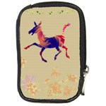 Funny Donkey Compact Camera Leather Case