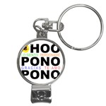 hooponopono3 Nail Clippers Key Chain