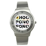 hooponopono3 Stainless Steel Watch