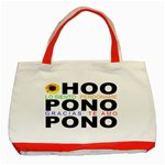 hooponopono3 Classic Tote Bag (Red)