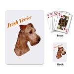 Irish Terrier Playing Cards Single Design