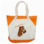 Irish Terrier Accent Tote Bag