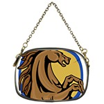 horsecircle1 Chain Purse (One Side)