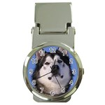 Alaskan Malamute Dog Money Clip Watch