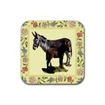 Jennyfoal Rubber Square Coaster (4 pack)