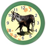 Jennyfoal Color Wall Clock