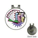 Ultimate Poker Golf Ball Marker Hat Clip