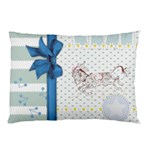 Leaping donkey Pillow Case
