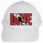 Scuba Diving White Cap