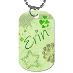 Erin dogtag Dog Tag (Two Sides)
