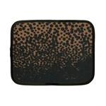 Brown Leopard Custom Netbook Case (Small)