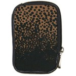 Brown Leopard Custom Compact Camera Leather Case