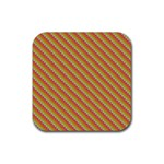 Brouhaha Custom Rubber Square Coaster (4 pack)