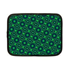 Green Mirage Custom Netbook Case (Small) from ArtsNow.com Front