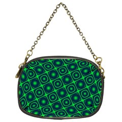 Green Mirage Custom Chain Purse (One Side) from ArtsNow.com Front