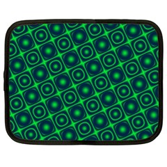 Green Mirage Custom Netbook Case (XL) from ArtsNow.com Front
