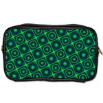 Green Mirage Custom Toiletries Bag (Two Sides) from ArtsNow.com Front