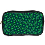 Green Mirage Custom Toiletries Bag (Two Sides) from ArtsNow.com Back