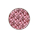 Pink Curl Custom Hat Clip Ball Marker (4 pack)
