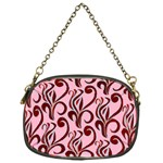 Pink Curl Custom Chain Purse (One Side)