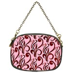 Pink Curl Custom Chain Purse (Two Sides)