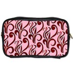 Pink Curl Custom Toiletries Bag (Two Sides)