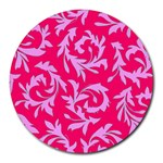 Pink Dream Custom Round Mousepad