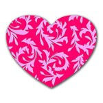 Pink Dream Custom Mousepad (Heart)