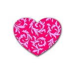 Pink Dream Custom Heart Coaster (4 pack)