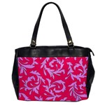 Pink Dream Custom Oversize Office Handbag (One Side)