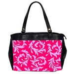 Pink Dream Custom Oversize Office Handbag (Two Sides)
