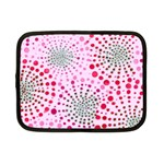 Pink Fireworks Custom Netbook Case (Small)