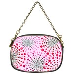 Pink Fireworks Custom Chain Purse (One Side)