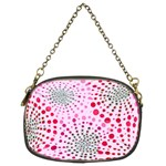 Pink Fireworks Custom Chain Purse (Two Sides)