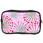 Pink Fireworks Custom Toiletries Bag (Two Sides)