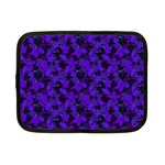 Purple Floral Custom Netbook Case (Small)