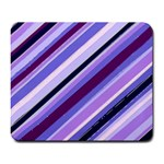 Purple Candy Cane Custom Large Mousepad