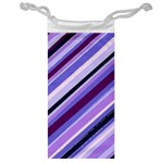 Purple Candy Cane Custom Jewelry Bag