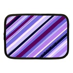 Purple Candy Cane Custom Netbook Case (Medium)