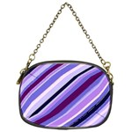Purple Candy Cane Custom Chain Purse (One Side)