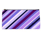 Purple Candy Cane Custom Pencil Case