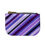 Purple Candy Cane Custom Mini Coin Purse
