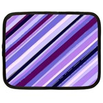 Purple Candy Cane Custom Netbook Case (XXL)